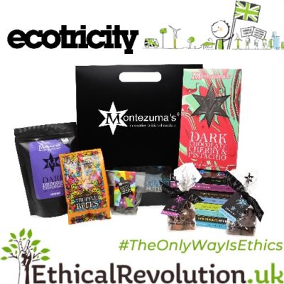 Free £75 Montezumas Hamper with Ecotricity