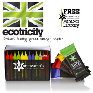 Ecotricity: Free Montezuma mini-bar hamper
