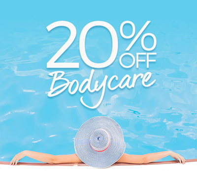 20% off bodycare