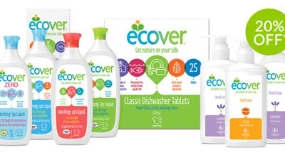 20% off ecover products