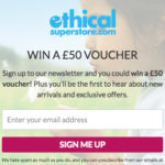 Win a £50 Ethical Superstore Voucher