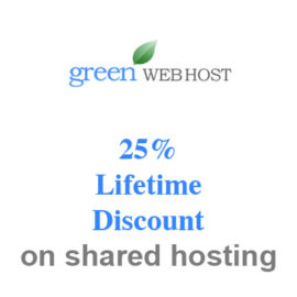 green web host 25% discount