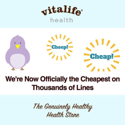 Vitalife 25% off everything!