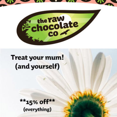 mothers day raw choc co