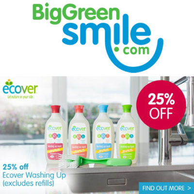 Ecover 25% off