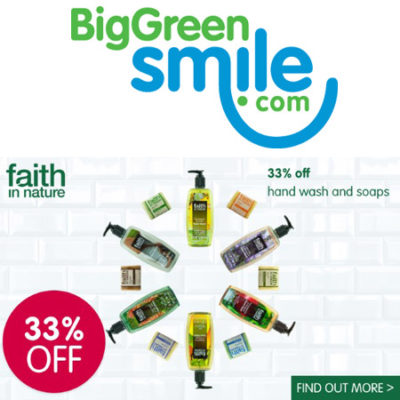 Faith In Nature 33% off at Big Green Smile