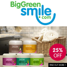 Jason Face Cream 25% off BigGreenSmile