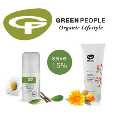 Natural Deodorants & Showers Gels - Save 15%
