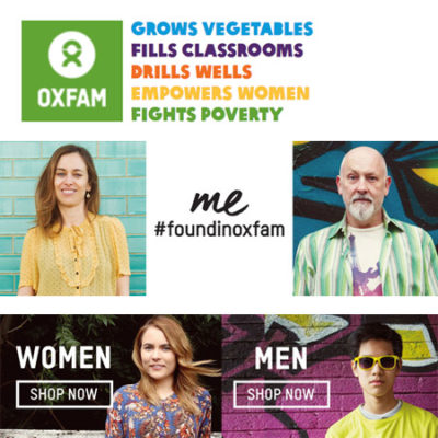 Oxfam 20% off