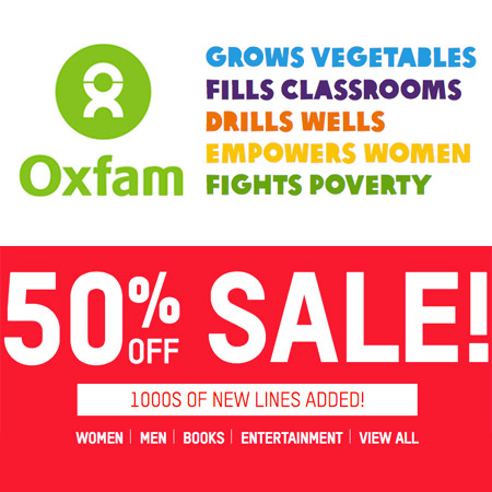 Oxfam clothing online
