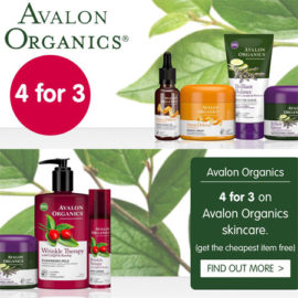 Avalon Organics 4 for 3