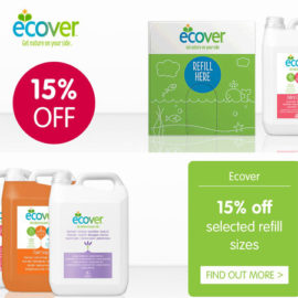 Ecover 15% off