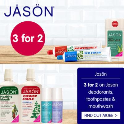 Jason 3 for 2