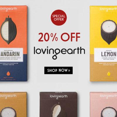 Loving Earth Chocolate - Save 20%