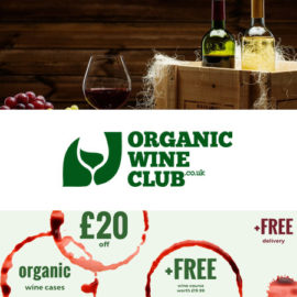 Organic Wine Club £20 off + Free Course