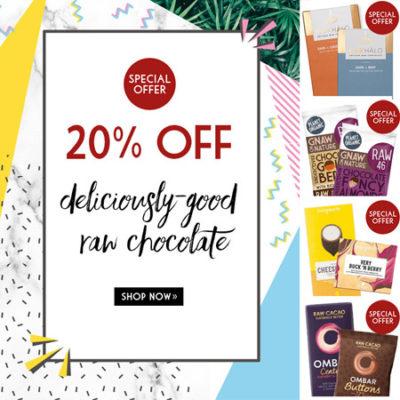 Raw Chocolate Save 20%