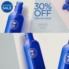 Neal's Yard 30% off