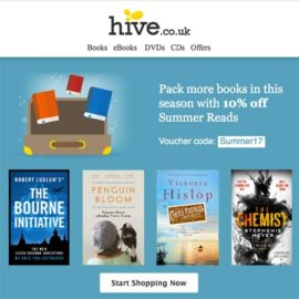 10% off Hive Summer