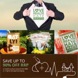 Love Health Hate Waste FREE delivery