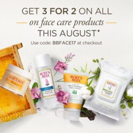 Burts Bees 3 for 2
