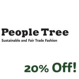 People Tree 20% off
