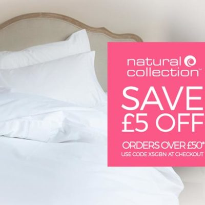 £5 promo code at Natural Collection