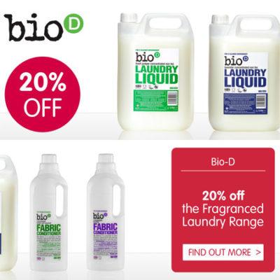 20% off Bio-D