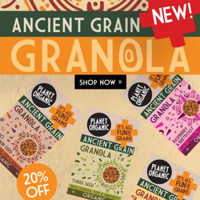 Ancient Grain Granola 20% off