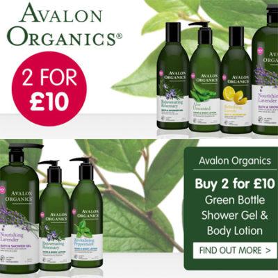 Avalon Organics 2 for £10
