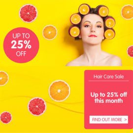 25% off Natural Hair Care