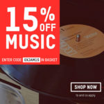 Oxfam 15% off music