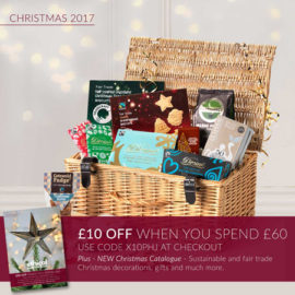 £10 off Christmas at Ethical Superstore