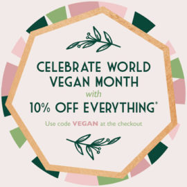 Planet Organic World Vegan Month 10% Promotional Discount Code