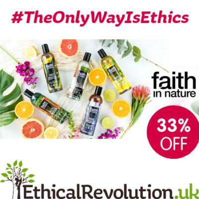 33% 0ff Faith In Nature