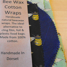 Bee Wax Cotton Wraps