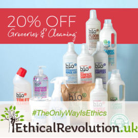 20% Off Spring Cleaning & Groceries at Natural Collection