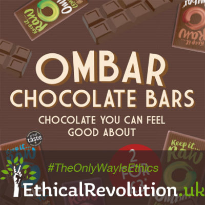 Ombar Chocolate 2 for £3 at Planet Organic